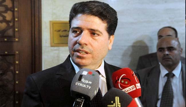 Syrian Prime Minister arrived in Tehran for talks