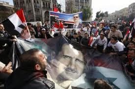 Syrians-hold-pro-Assad-rally