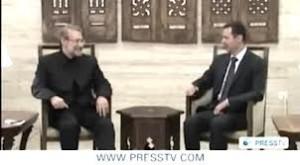 Video- Iranian Larijani's Syria Visit