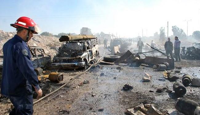 Car bombs hit Homs and Hama, 17 civilians dead