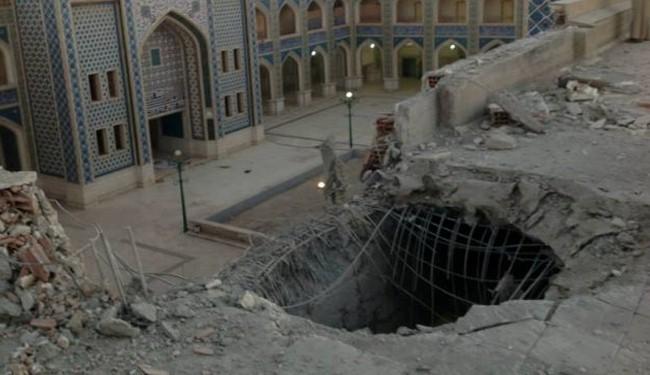 Terrorists bomb Shia shrine in Syria