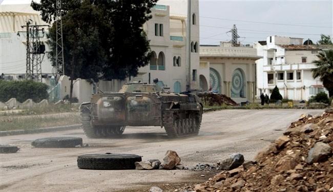 Syrian army, militants call truce near Homs