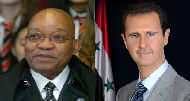 President-al-Assad_President-Zuma