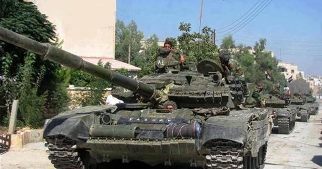 Jobar Erupts Syrian Arab Army Storms Jaysh Al-Islam's Stronghold