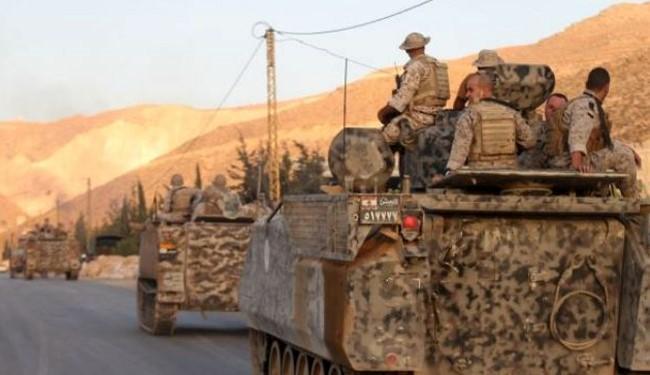 Lebanon shells terrorist positions in Syria border