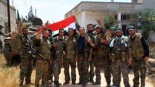 Syria army recaptures more areas near capital