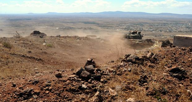 Syrian Army destroys a net of tunnels in Joubar, kills many terrorists in Lattakia countryside