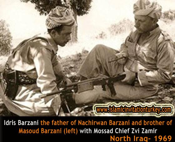 mossad-barzani