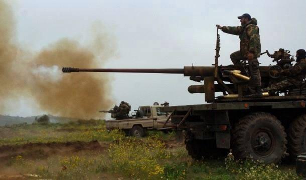 Syrian-Army-in-Quneitra