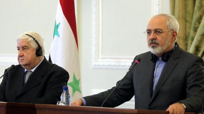 389293_Iran-Syria-Zarif