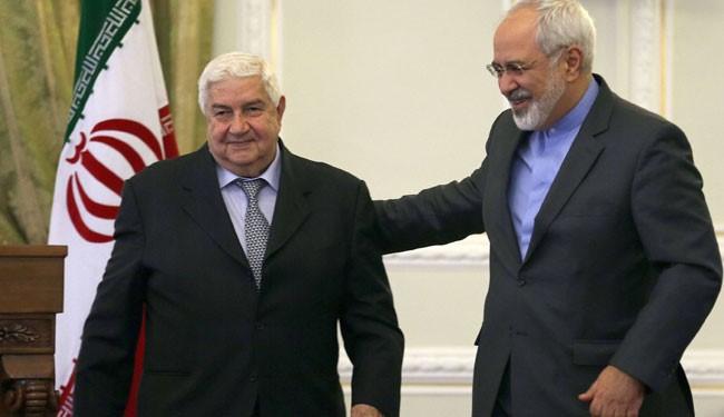 Zarif: Zionist Attack on Syria Show Sympathy with Terrorist