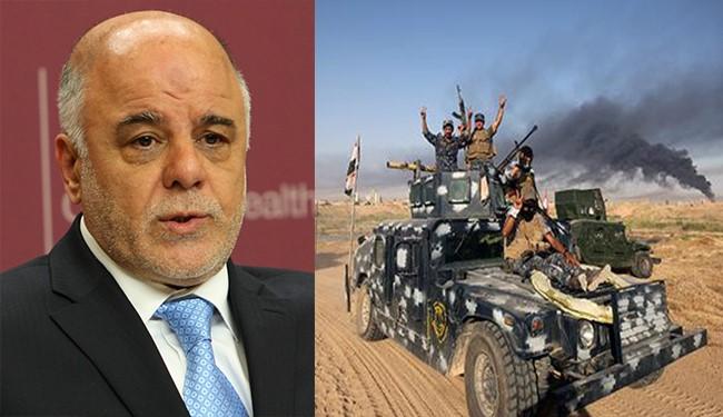 VIDEO, Iraqi Army to Liberate Fallujah Soon with Minimal Losses: al-Abadi