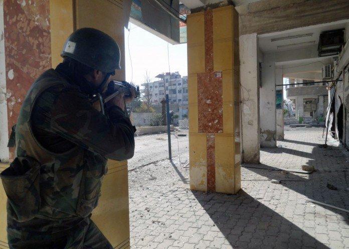 Syrian-soldier-Damascus-696x496-696x496