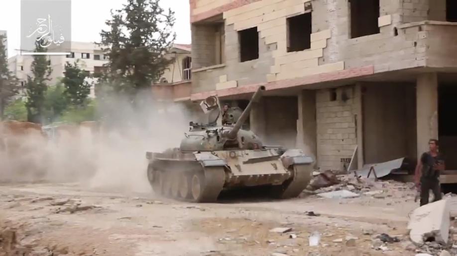 Rebel-tank-in-east-Damascus-918x516