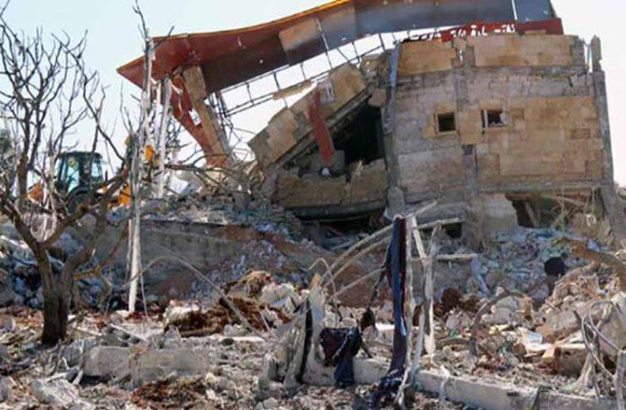 Terrorists-Shell-Christian-Town-in-Idlib-Province-696x456